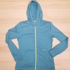 {L} ASICS Full Zip Hoodie Jacket